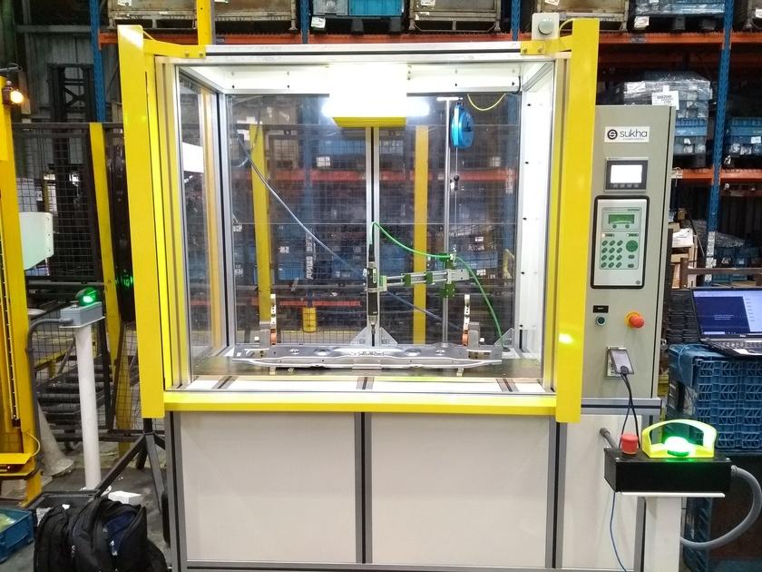 Automação de processos de montagem