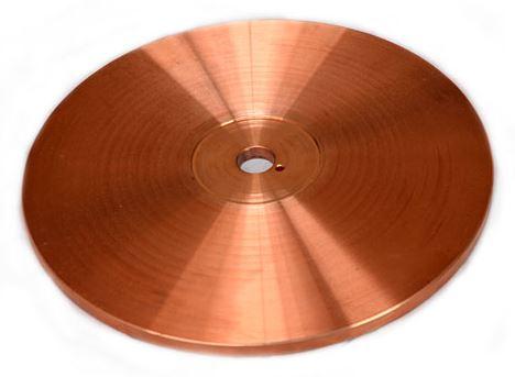 Eletrodo em disco para solda por costura